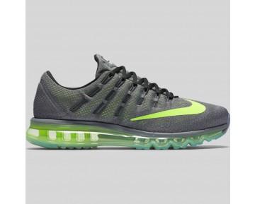 Damen & Herren - Nike Air Max 2016 Cool Grau Volt Schwarz Wolf Grau