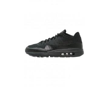 Nike Air Max 1 Ultra Flyknit Schuhe Low NIK5l23-Schwarz