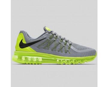 Damen & Herren - Nike Air Max 2015 Anniversary Pack Spiegeln Silber Schwarz Volt