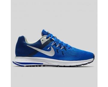 Damen & Herren - Nike Zoom Winflo 2 Racer Blau Metallisch Silber