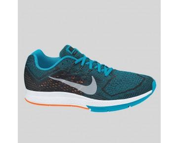 Damen & Herren - Nike Air Zoom Structure 18 Blau Lagune Metallisch Silber