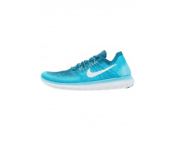 Nike Performance Free Run Flyknit 2 Schuhe NIKpckh-Blau