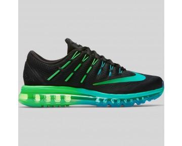 Damen & Herren - Nike Air Max 2016 Schwarz Mitternacht Turquoise