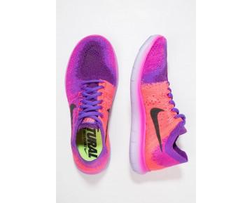 Nike Performance Free Run Flyknit 2 Schuhe Low NIKd0ab-Rosa