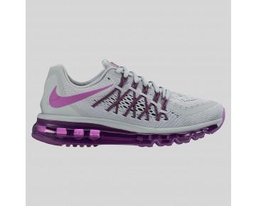 Damen & Herren - Nike Wmns Air Max 2015 Wolf Grau Vivid Pink