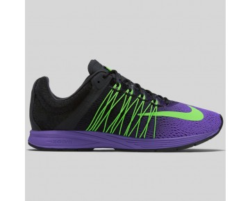 Damen & Herren - Nike Air Zoom Streak 5 Fierce lila Grün Strike Schwarz