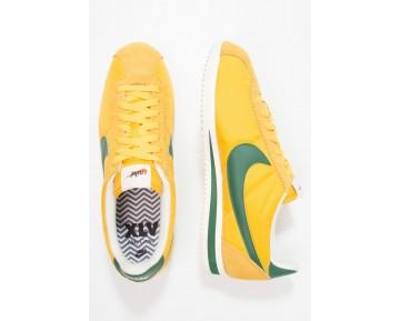 Nike Classic Cortez Premium Schuhe Low NIKrxag-Gelb