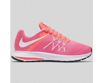Damen & Herren - Nike Wmns Zoom Winflo 3 Pink Blast Weiß Hell Mango